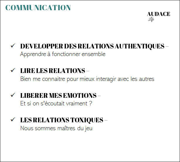 Thématique : Communication